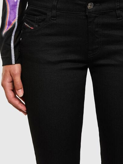 Diesel - Slandy Low 069EF, Black/Dark grey - Jeans - Image 5