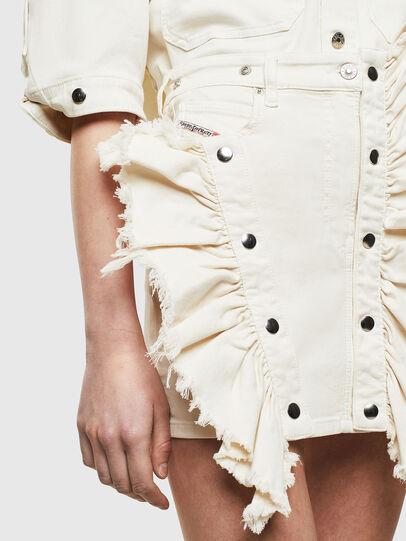 Diesel - D-FRU JOGGJEANS, Cream - Skirts - Image 3