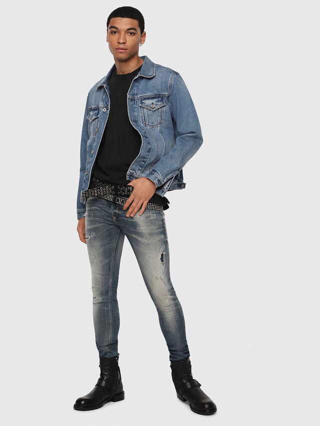 Diesel - Sleenker 069DK, Medium blue - Jeans - Image 6