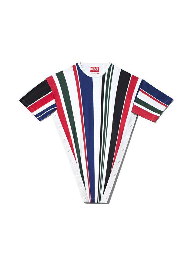 Diesel - GMPL02, Multicolor/White - T-Shirts - Image 1
