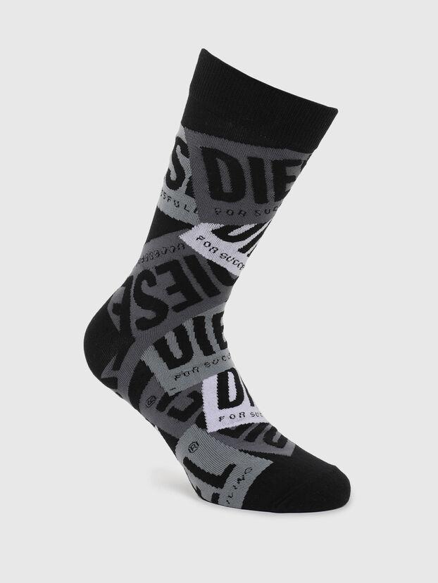 SKM-HERMINE, Black/Grey - Socks