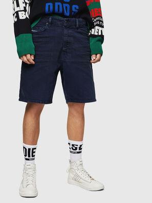 D-WILLOH, Navy Blue - Shorts