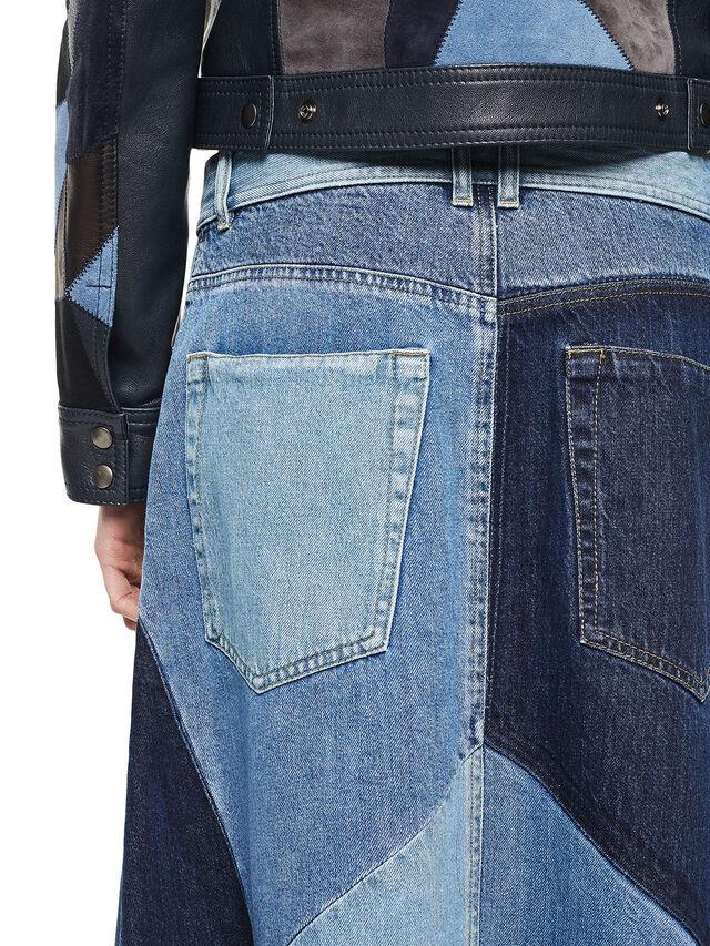Diesel - ODETTE, Blue Jeans - Skirts - Image 5