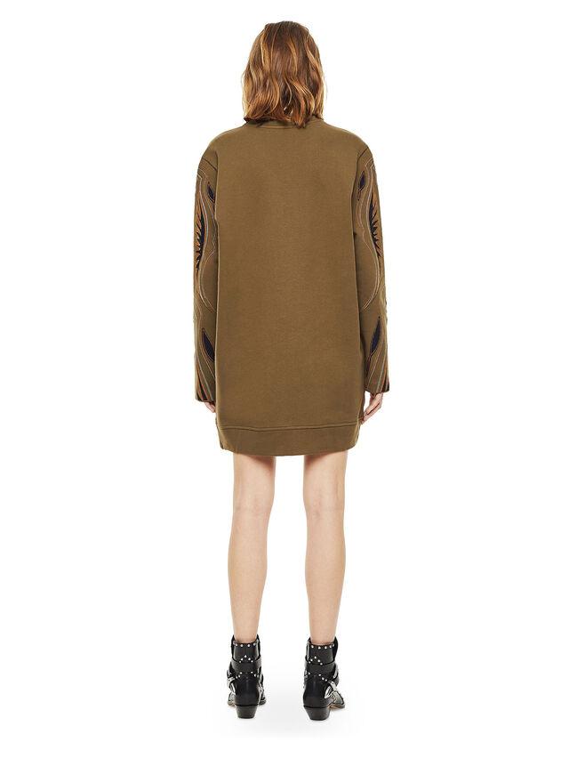 Diesel - DRESSIE, Military Green - Dresses - Image 2