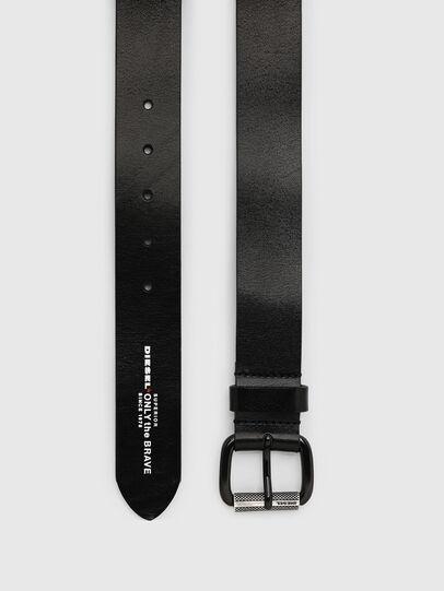 Diesel - B-READY, Black - Belts - Image 3
