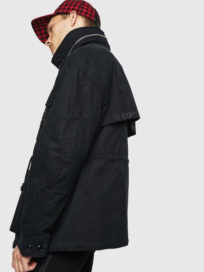 Diesel - J-TOUCHIN, Black - Jackets - Image 5