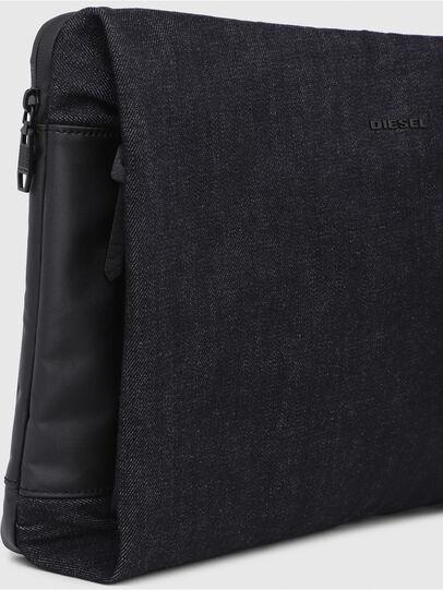 Diesel - D-SUBTORYAL CLUTCH, Blue Jeans - Clutches - Image 4
