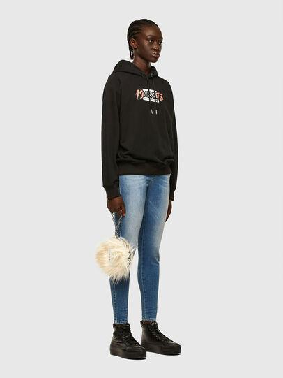 Diesel - F-ANG-HOOD-K22, Black - Sweaters - Image 4