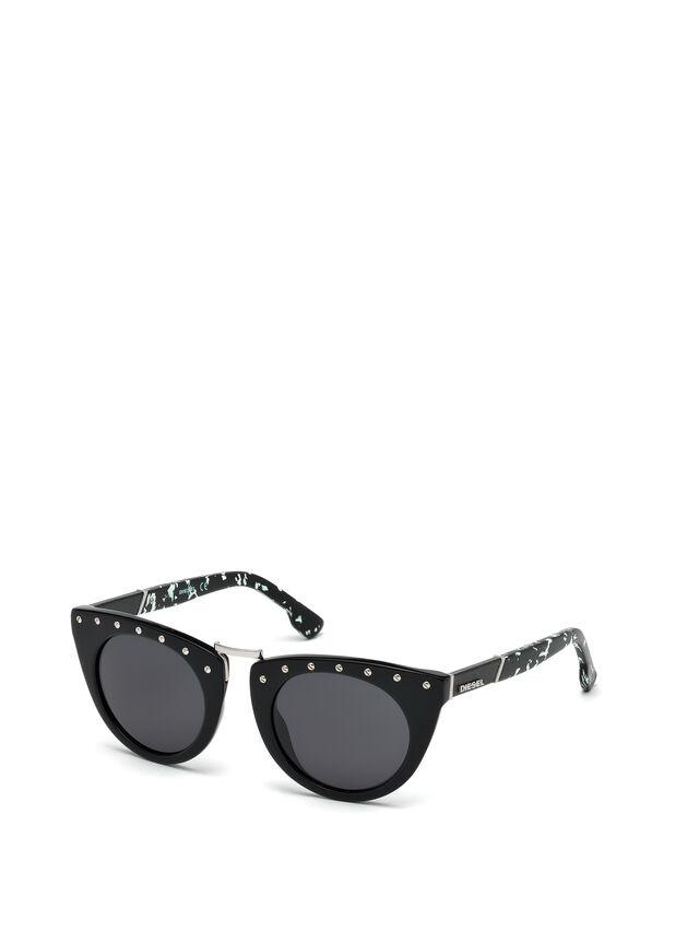 Diesel - DL0211, Black - Eyewear - Image 4