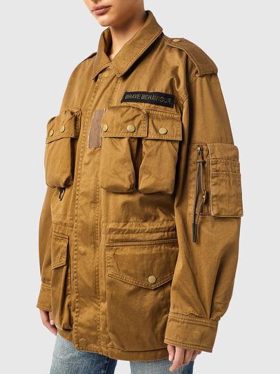 Diesel - J-LOYD, Brown - Jackets - Image 6
