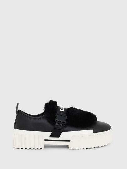 Diesel - S-MERLEY LF, Black - Sneakers - Image 1
