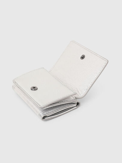 Diesel - LORETTINA, Silver - Small Wallets - Image 6