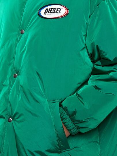 Diesel - W-KODYN, Green - Winter Jackets - Image 6