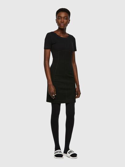Diesel - D-KONF, Black - Dresses - Image 1