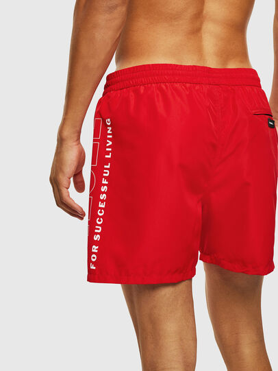 Diesel - BMBX-WAVE 2.017, Red - Swim shorts - Image 2