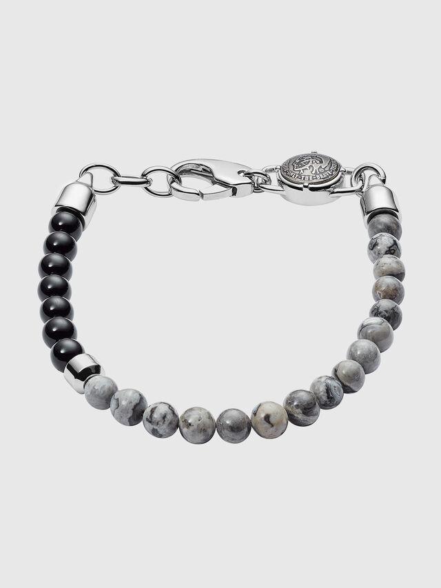 Diesel - BRACELET DX1061, Grey - Bracelets - Image 1