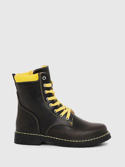 Diesel - HB LACE UP 04 YO, Black - Footwear - Image 1