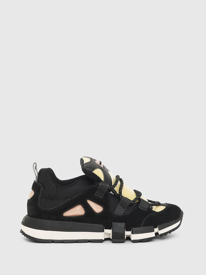 Diesel - H-PADOLA SL W, Black/Yellow - Sneakers - Image 1