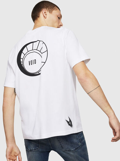 Diesel - T-JUST-A8, White - T-Shirts - Image 2