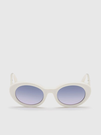Diesel - DL0281, White - Sunglasses - Image 1