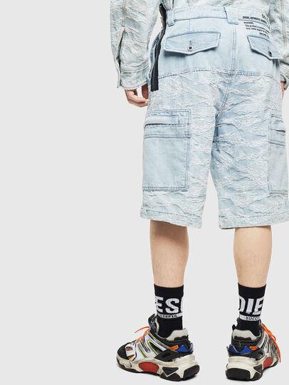 Diesel - D-LUK-SHORT, Light Blue - Shorts - Image 2