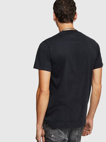 Diesel - T-THURE, Black - T-Shirts - Image 2