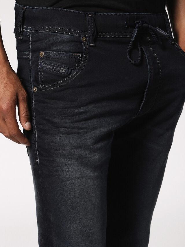 Diesel - KROOLEY JOGGJEANS 0686F, Dark Blue - Jeans - Image 6