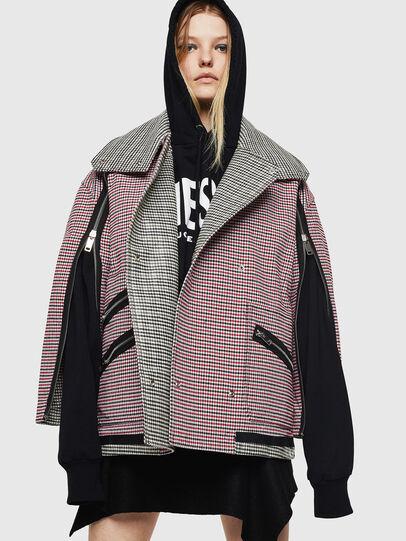 Diesel - G-KALIN, Pink/Black - Jackets - Image 4