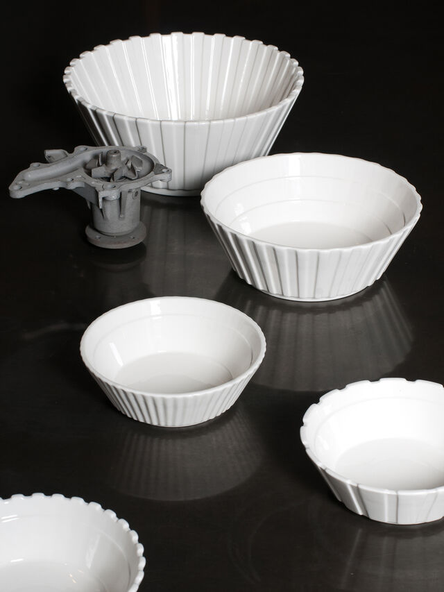 Living 10982 MACHINE COLLEC, White - Bowl - Image 4