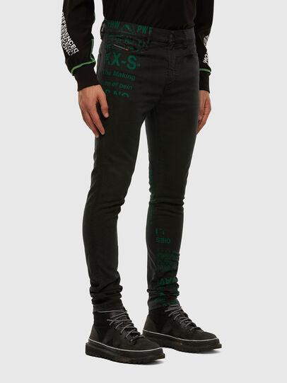 Diesel - D-REEFT JoggJeans® 009HD, Black/Dark grey - Jeans - Image 6