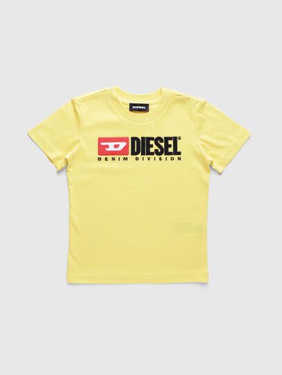 Diesel - TJUSTDIVISIONB-R, Yellow - T-shirts and Tops - Image 1