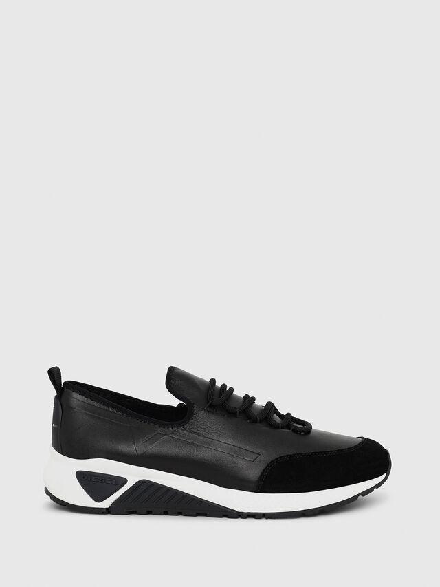 Diesel - S-KBY, Black Leather - Sneakers - Image 1
