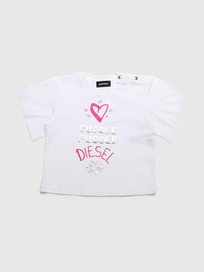Diesel - TUNGIB, White - T-shirts and Tops - Image 1