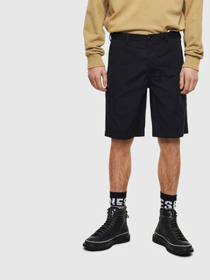 P-MATTHEW, Black - Shorts