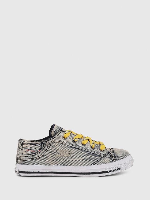 Diesel - SN LOW LACE DENIM 13, Grey Jeans - Footwear - Image 1