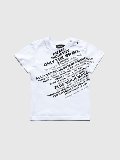 Diesel - TDIEGOS3B, White - T-shirts and Tops - Image 1