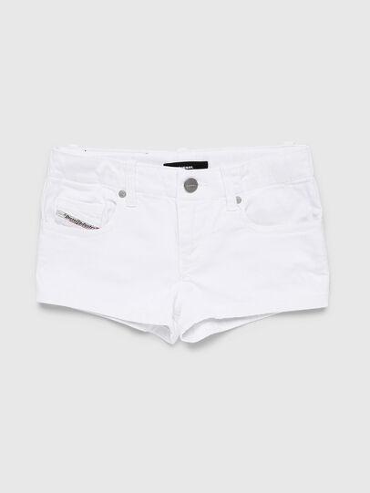 Diesel - PRIRAZ-N, White - Shorts - Image 1