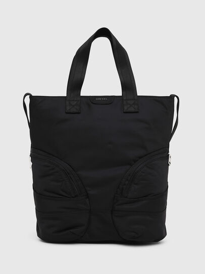 Diesel - MINNERAMA, Black - Shopping and Shoulder Bags - Image 1