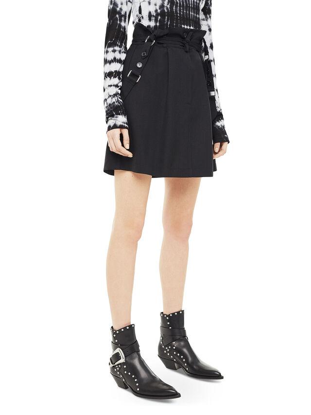 Diesel - OPHELIA, Black - Skirts - Image 5