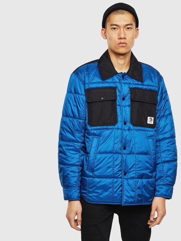 J-WELLES, Blue Marine - Winter Jackets