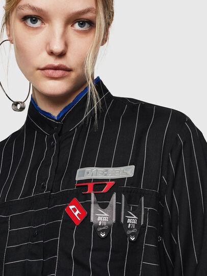 Diesel - C-SUPER-D, Black - Shirts - Image 3