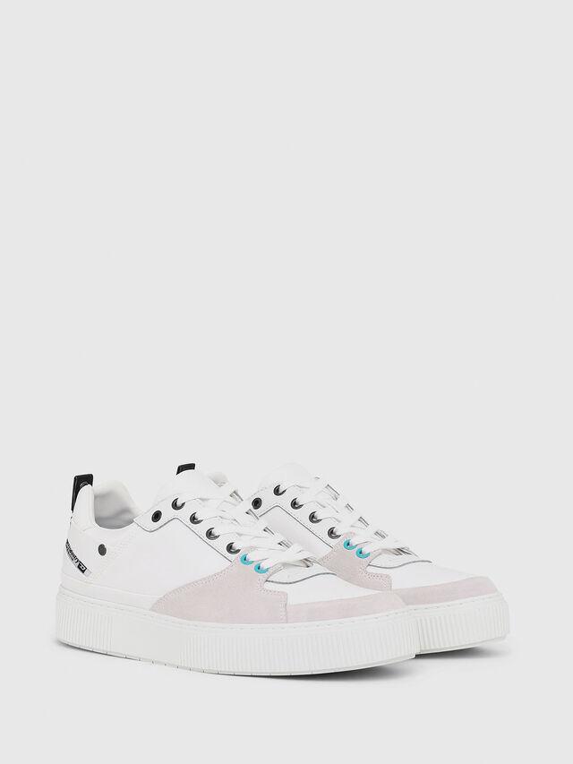Diesel - S-DANNY LC, White - Sneakers - Image 2