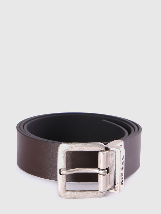 Diesel - B-DOUBLEC, Black/Brown - Belts - Image 2