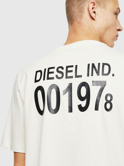 Diesel - T-JUST-VINT, White - T-Shirts - Image 3