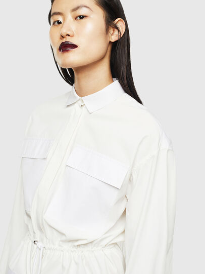 Diesel - D-TEAR, White - Dresses - Image 3