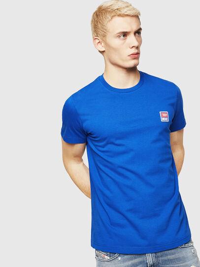 Diesel - T-DIEGO-DIV, Brilliant Blue - T-Shirts - Image 1