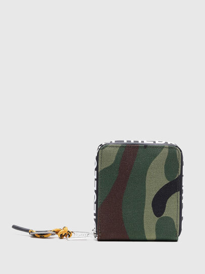 Diesel - HIRESH XS ZIPPI, Multicolor/Brown - Zip-Round Wallets - Image 2