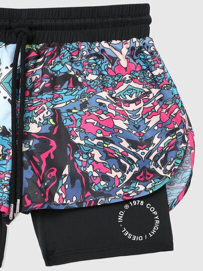 Diesel - BFOWT-FAUSTIN-SH-W, Black/Pink - Swim shorts - Image 3