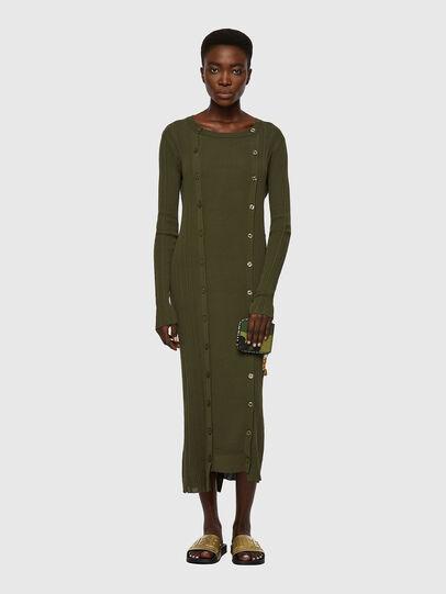 Diesel - M-GEORGIA, Olive Green - Dresses - Image 4