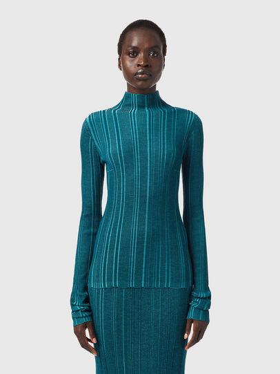 Diesel - M-ALBERTA, Water Green - Knitwear - Image 1